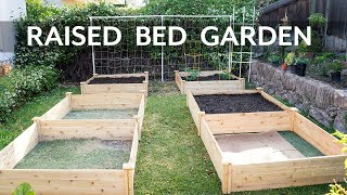 getlinkyoutube.com-Raised Bed Gardening - How To Start A Raised Bed Vegetable Garden
