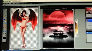 getlinkyoutube.com-[ Photoshop ] Ghép Cánh Thiên Thần K-Binz