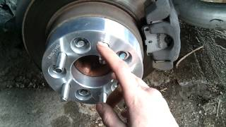 getlinkyoutube.com-How to install wheel spacers