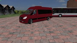 getlinkyoutube.com-[OMSI 2] [MOD] Mercedes Benz Sprinter 313CDI