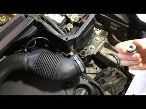 Замена масла в АКПП Range Rover Evoque Ленд Ровер Эвок 2,2 2011 года