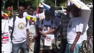 getlinkyoutube.com-Free Andargachew Tsige Protest in Tel Aviv, Israel