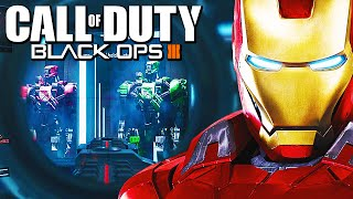"getlinkyoutube.com-Black Ops 3: ""IRON MAN HALL OF ARMOR"" Easter Egg + Secret Specialist Weapons? (Call of Duty BO3)"
