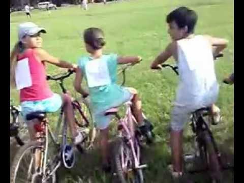 primer encuentro de bicicletas tuning en puerto Iguazu el la plaza de los Niños organizad