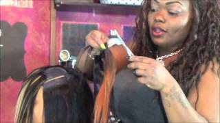 getlinkyoutube.com-Layered And Feathered Invsbl Part Quick Weave Bob