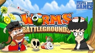 getlinkyoutube.com-Worms Battlegrounds - Match à mort avec Fanta, Bob, Benzaie et Hyrul3 - Xbox One