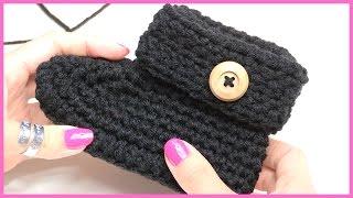 getlinkyoutube.com-How to Crochet Baby Booties