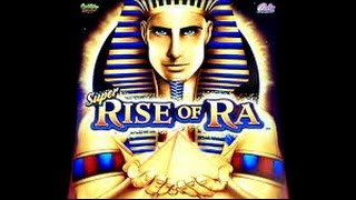 getlinkyoutube.com-Super Rise of Ra (Bally) - BIG BONUS WIN