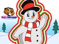 """""""Frosty the Snowman""""   Busy Beavers Christmas Song, Babies, Toddlers, Preschool Sing-Along"""
