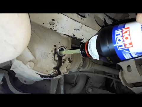 Замена масла в заднем редукторе BMW E90 (рестайлинг)