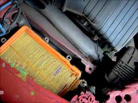 Fiat Bravo: Air Filter Change