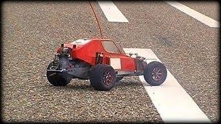 getlinkyoutube.com-Four stroke rc buggy - vintage Kyosho Baja - Perfect sound!