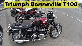 """getlinkyoutube.com-""""Essai"""" de la Triumph Bonneville T100"""