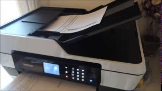 getlinkyoutube.com-ブラザー PRIVIO(プリビオ)MFC J6570CDWの印刷音の動画