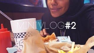 Mini Vlog#2 | صار في برجر مثل مال ماكدونالدز
