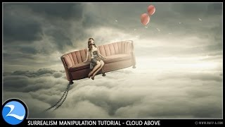 getlinkyoutube.com-Surrealism Cloud Above Photoshop Manipulation Tutorial