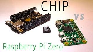 SHOWDOWN: CHIP vs Raspberry Pi Zero