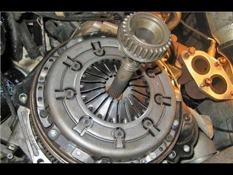Снятие механической КПП, замена сцепления Volkswagen Passat B5