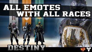 getlinkyoutube.com-Destiny All Emotes With All Races
