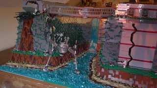 getlinkyoutube.com-LEGO Star Wars Clone outpost on Talus( Base #2)