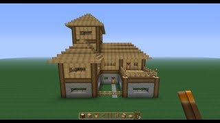 getlinkyoutube.com-Perfect Minecraft Survival House!! -Tutorial