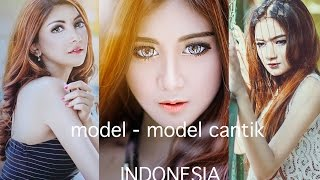 model model cantik indonesia