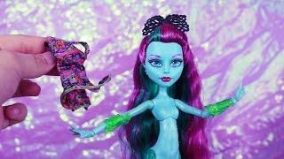 getlinkyoutube.com-Monster High Mermaid Doll : Posea Reef Great Scarrier Reef Review