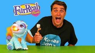Roasting Marshmallows With Torch My Blazing Dragon! || Toy Review || Konas2002