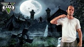getlinkyoutube.com-GTA V - El misterio de la tumba en la montaña - Misterios en GTA 5 - NexxuzHD