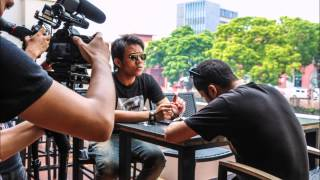 getlinkyoutube.com-Hafiz n Frens @ HRC Melaka - Pokok by Akim