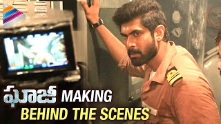 Ghazi Movie Making | Behind The Scenes | Rana Daggubati Ghazi Movie | Taapsee | Telugu Filmnagar