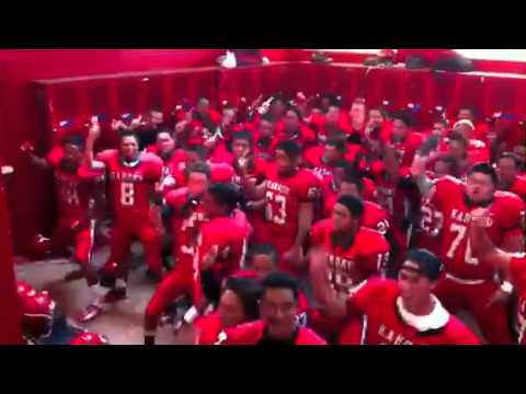 Kahuku JV Football Team 2011-2012 Haka