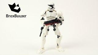 getlinkyoutube.com-Lego Star Wars 75114 First Order Stormtrooper - Lego Speed Build