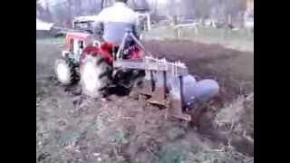 getlinkyoutube.com-Yanmar Ym 1300 13 Le traktor szántás