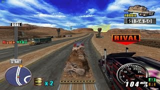 getlinkyoutube.com-PS2 The King of Route 66 Gameplay