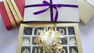 Cara Membuat Kotak Coklat (tutup kertas)
