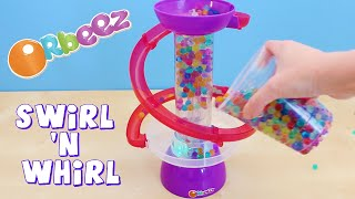 getlinkyoutube.com-Orbeez Swirl N Whirl Light Up Playset Toy Review and Unboxing