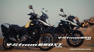 getlinkyoutube.com-V-Strom 650 ABS/XT ABS official promotional movie