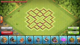 getlinkyoutube.com-Clash of Clans Farming Base Town Hall 7 Rathaus level 7 verteidigung