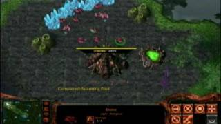 getlinkyoutube.com-The Warcraft vs Starcraft Mod --  Zerg vs Orcs