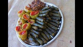 Diyarbakır Usulü Etli ve Sumaklı Dolma - Diyarbakır Yemekleri