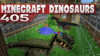 getlinkyoutube.com-Minecraft Dinosaurs! || 405 ||| Killer Dilophosaurs!