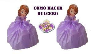 getlinkyoutube.com-COMO HACER DULCERO DE PRINCESITA SOFIA