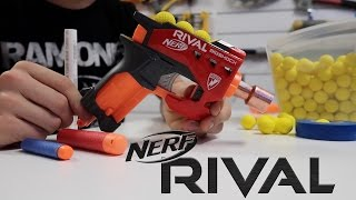getlinkyoutube.com-NEW Nerf Rival Pistol!! (Big Shock Mod)