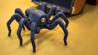 getlinkyoutube.com-Inside Adam Savage's Cave: Awesome Robot Spider!