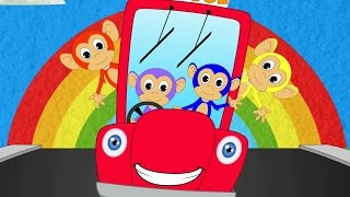 getlinkyoutube.com-wheels on the bus go round and round | bus song | learn transport | vehicle songs