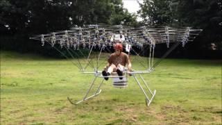 getlinkyoutube.com-The Swarm Manned  Multirotor Multicopter is Back Flying