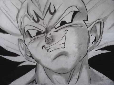 Drawing- Vegeta --vXG8LkLRtE