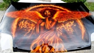 getlinkyoutube.com-Airbrushing fire angel.