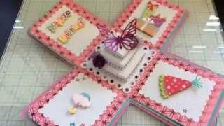 getlinkyoutube.com-Exploding Box Card